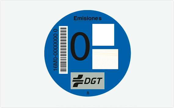 Distintivo Ambiental – Etiqueta 0 emisiones