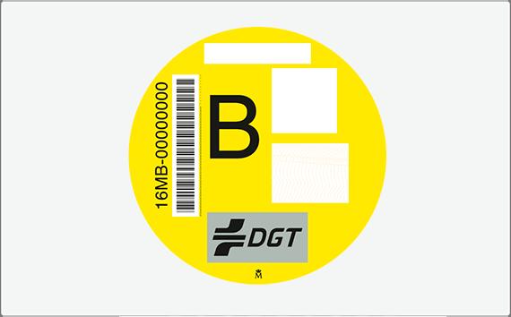 Distintivo Ambiental – Etiqueta B