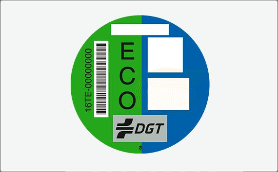 Distintivo Ambiental – Etiqueta Eco, Motocicletas